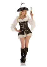 Sexy Blush Pirate Costume