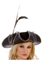Rouge Pirate Costume Hat