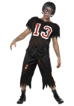 Mens Zombie Football Player Costume