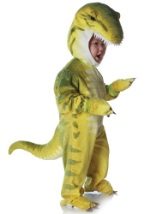 T-Rex Green Child Costume