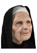 Scary Nun From The Town Mask
