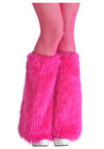 Furry Pink Boot Covers