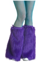 Sexy Purple Monster Boot Covers