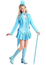 Ladies Sexy Blue Tuxedo Costume
