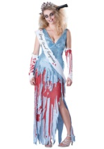 Adult Drop Dead Prom Queen Costume