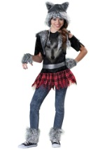 Tween Werewolf Girl Costume