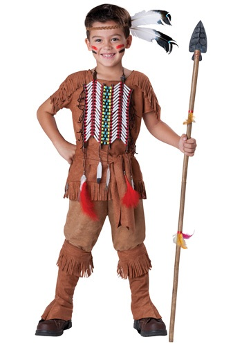 Brave Indian Kids Costume
