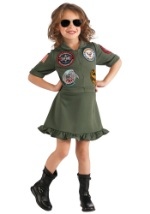 Top Gun Flight Dress For Girls