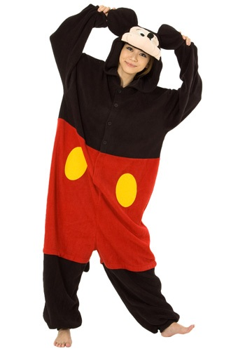 Adult Mickey Mouse Pajama Costume