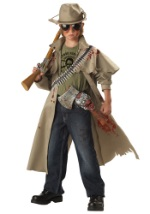 Kids Scary Zombie Hunter Costume