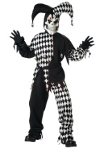 Kids Black Jester Costume