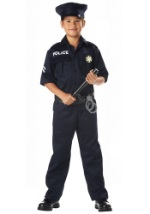 Childrens Police Costume