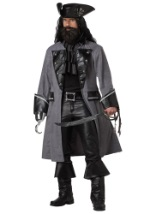 Mens Caribbean Blackbeard Costume