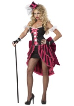 Sexy Parisian Can Can Showgirl Plus Size Costume