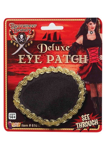 Pirate Deluxe Eye Patch