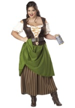 Plus Size Medieval Tavern Maiden Costume