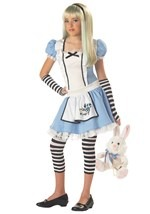 Tween Sassy Alice Costume