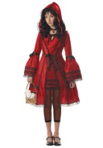 Tween Red Strangeling Riding Hood Costume