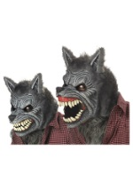 Movable Jaw Werewolf Mask