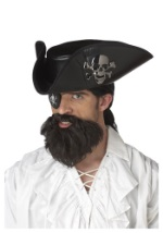 Mens Cutthroat Pirate Beard