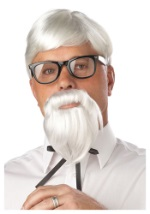Colonel's Wig and Beard Set