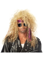Blond Heavy Metal Wig