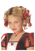 Red Queen Hair Clips
