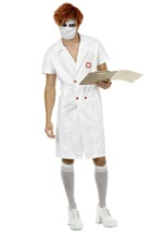 Twisted Joker Nurse Costume
