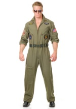 Plus Size Military Airforce Pilot Costume