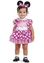 Pink Minnie Mouse Infant Costume