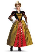 Adult Red Queen Costume Gown