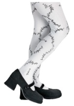 Child Monster Stitched Tights