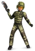 Kids Military Foot Soldier Costume