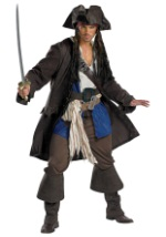 Prestige Adult Captain Jack Sparrow Costume