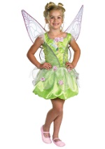 Girls Enchanted Tinkerbell Costume
