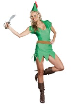 Womens Sexy Peter Pan Costume