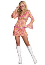 Groovy Miss Go Go Dancer Costume