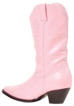 Girls Pink Western Boots