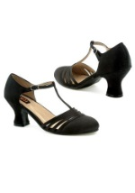 Lucille Heeled Flapper Shoes