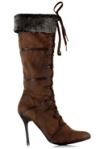 Sexy Viking Brown Womens Boots