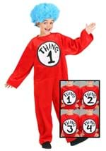 Childrens Thing 1 and 2 Costume