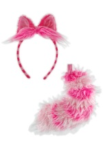 Cheshire Cat Tail and Ears
