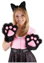 Black and Pink Kitty Paws