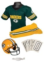 NFL Packers Player Costume