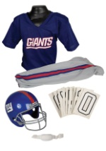 Kids NFL Giants Uniform Costume