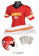 Boys NFL Chiefs Uniform Costume