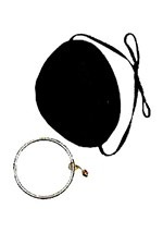 Eye Patch with Ear ring