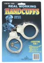 Police Officer Handcuffs