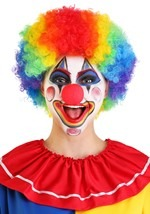 Classic Rainbow Deluxe Clown Wig