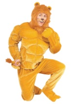 Macho Cowardly Lion Adult Costume